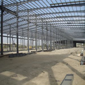 Popular Model Prefabricated Light Steel Structure Godown Warehouse with Nice Quality pictures & photos