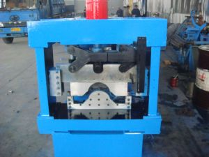 China Manufacture Price Roof Ridge Cap Roll Forming Machine pictures & photos