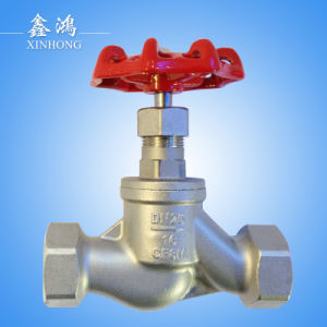 "304 Stainless Steel ""S"" Type Globe Valve Dn15 pictures & photos"