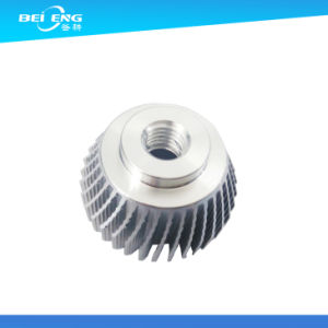 CNC Machining Clear Anodized Aluminum Profiles Heatsink pictures & photos