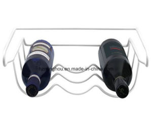 Refrigerator Wine Bottle Rack Holds 3 Bottles for Home pictures & photos