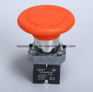 6-380V Mushroom Emergency Type Push Button Switch pictures & photos
