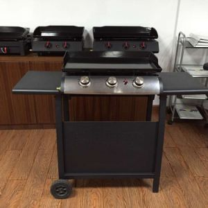 Cheap 2 Burner Gas Barbecue Grill for Europe Market pictures & photos