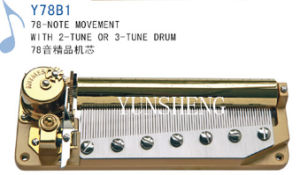 78 Note Movement with 2-Tune or 3-Turn Drum (Y78B1) E pictures & photos