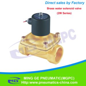Normally Closed 2/2 Way Pneumatic Water Proof Solenoid Valve (2W-250-25)