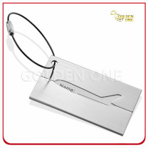 Superior Quality Aluminum Aircraft Pattern Luggage Tag pictures & photos