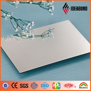 Silver Mirror Decorative Wall Covering Aluminium Composite Panel Price (AE-201) pictures & photos