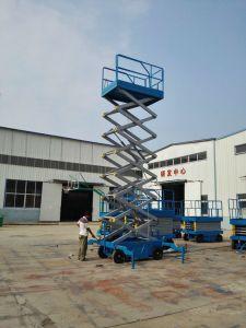 Trailer Movable Scissor Cargo Freight Lift Platform pictures & photos