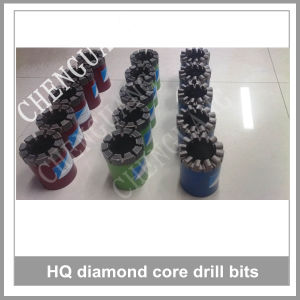 Interchangeable Drill Bits, Electroplated Diamond Core Drill Bits, Diamond Impregnated Bits pictures & photos