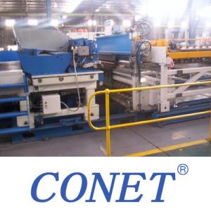 Conet 3-6mm Wire Mesh Fencing Machine with V Groove From China pictures & photos