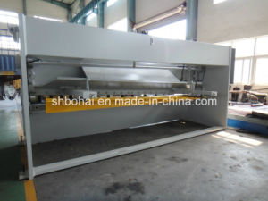 2500mm Hydraulic CNC Guillotine Metal Plate Shear QC11y 12X2500mm Steel Cutter Machine pictures & photos