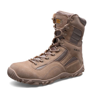 New Design Genuine Leather Desert Boots and Jungle Tactical Boots (31003)
