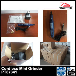 18V/3.2mm Hot Charge-Type Mini Grinder (PT87341) pictures & photos
