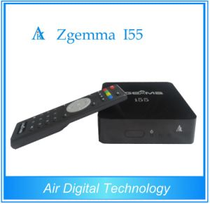 Digital Media IPTV Box Zgemma I55 High CPU Dual Core Linux OS Enigma2 WiFi Stalker Middleware Player pictures & photos