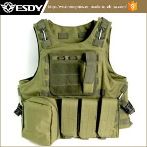 Combat Soft Gear Molle Protective Military Vest for Paintball Games pictures & photos
