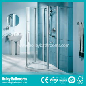 Hot Selling Hinger Shower Cabin Mounted on Floor (SE310N) pictures & photos