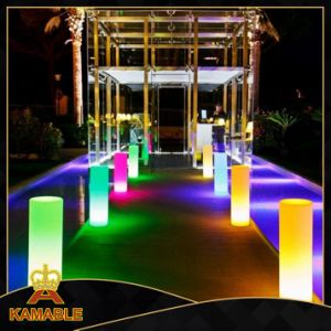 Decoration Waterproof LED Cylinder Floor Lamp (F007) pictures & photos