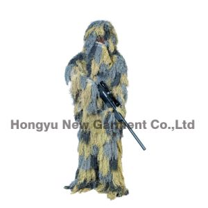 Forest Design Military Camouflage Ghillie Suit (HY-C002) pictures & photos