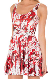 OEM Factory Summer Fashion Sweet Printed Mini Dresses pictures & photos