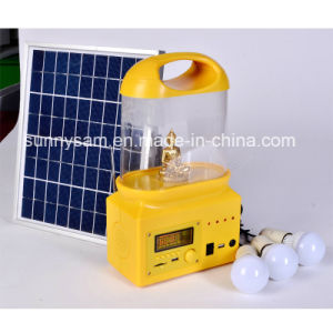 Rechargeable LED Solar Camping Lantern for Outdoor Use pictures & photos