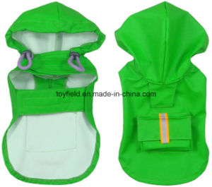 Pet Prodduct Clothing Clothes Coldproof Waterproof Dog Raincoat pictures & photos