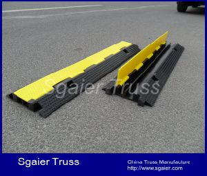 Heavy Duty Rubber Cable & Wire Protector Ramp Interlocking pictures & photos