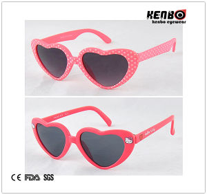Heart Shape Children′s Sunglasses Kc516 pictures & photos