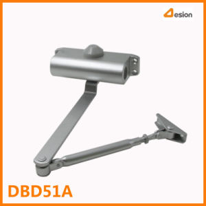 Small Size Round Adjustable Aluminium Door Closer for Fire-Proof Door pictures & photos