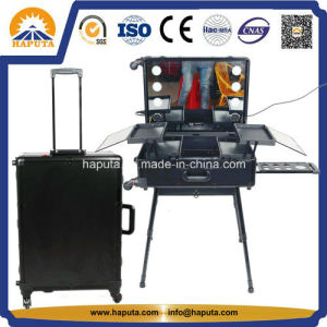 LED Studio Makeup Case W/ Lights and USB Connection (HB-3600) pictures & photos