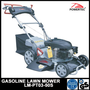 Powertec Adjustable and Self Propelled Gasoline Lawn Mower (LM-PT03-50S) pictures & photos