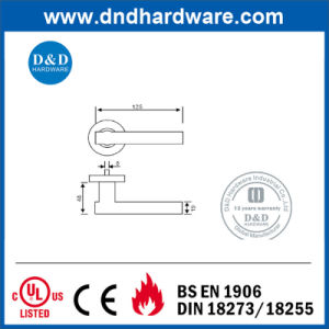 Furniture Hardware SS304 Solid Lock Handle for Wooden Door pictures & photos