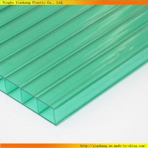 Twin-Wall Hollow Polycarbonate PC Sheet with UV Protection (XK-338)