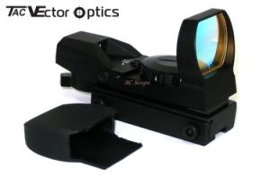 Vector Optics Imp 1X23X34 Multi Reticle Reflex Tactical Red DOT Rifle Scope Sight with 21mm Weaver Mount Base pictures & photos