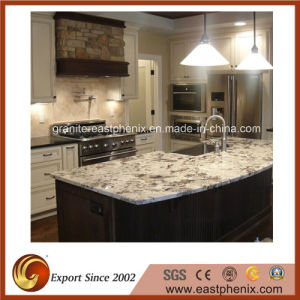 Excellent Quality White Delicatus Granite Worktop/Vanitytop/Countertop pictures & photos