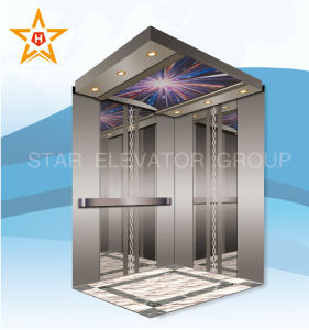 Mirror Stainless Passenger Elevator with Reasonable Price pictures & photos