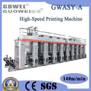Computer High-Speed Gravure Press for Roll Paper (GWASY-A) pictures & photos