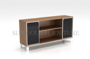 New Fashion Elegant Ikea Wooden Style Lowes Storage Cabinets (SZ-FC077) pictures & photos