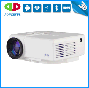 Lowest Price and High Quality1080p 2000 Lumens Portable Mini LED Digital Projector pictures & photos