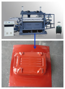 Rotary Style PC ABS Luggage Vacuum Forming Machine pictures & photos