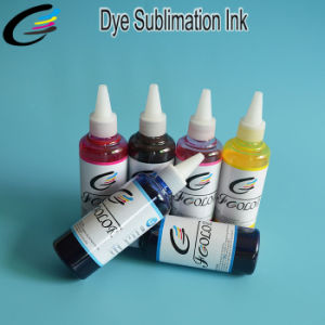 6colors Sublimation Transfer Printing Ink for Epson T50 T60 R330 1390 1400 1410 1500 Inkjet Printer Inks pictures & photos