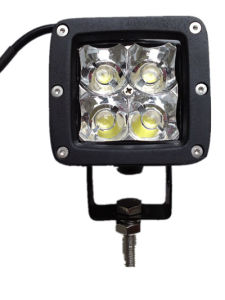 12W 12V Squar LED Work Light for Jeep Offroad Truck pictures & photos