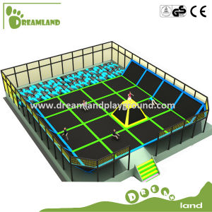 Large Indoor Trampoline with Foam Pit and Dodge Ball, Professional Gymnastic Commercial Trampoline for Sale pictures & photos
