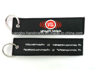 High Quality New Custom Embroidered Keychain pictures & photos