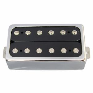 Chrom Color Open Style Humbucker Guitar Pickup for Lp Guitar pictures & photos