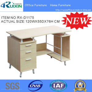 New Home and Office Combination Computer Table with File Cabinet (RX-D1175) pictures & photos