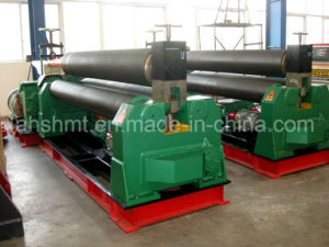 W11-6*2000mm Symmetric Plate Rolling Machine/ W11 Mechanical Type 3 Rollers Rolling and Bending Machine/Pipe Forming Machine pictures & photos