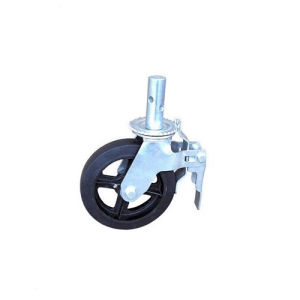 """8"""" Caster Wheel for Frame Scaffolding Rubber Material pictures & photos"""