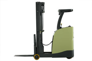 2000kg Sit Down Narrow Aisle Reach Truck pictures & photos