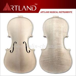 Advanced Violin, Unfinished White Violin, Unvarnished Violin (KV305W) pictures & photos