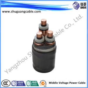 Medium Voltage/XLPE Insulation/PVC Sheath/Cable 24kv pictures & photos